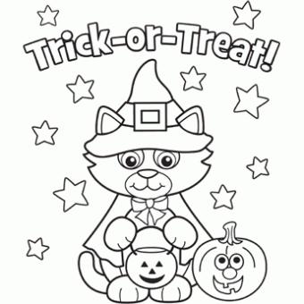Kitty Costume Free N Fun Halloween From Oriental Trading Malvorlagen Halloween Kurbis Malvorlage Kostenlose Ausmalbilder