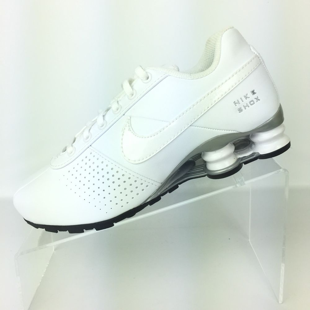 size 40 8108a e9453 Nike Shox Deliver PNT GS Youth US 4   Women s US 5.5 White Shoes NEW  615981-100  Nike  Athletic