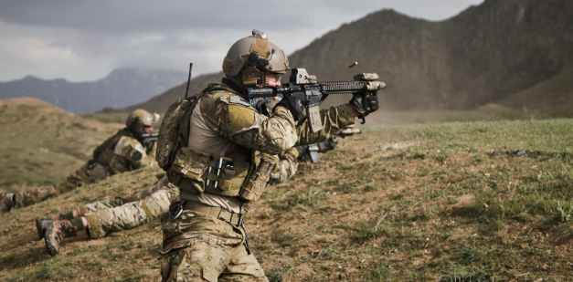 75th Ranger Regiment operator shooting | MILITARY ...