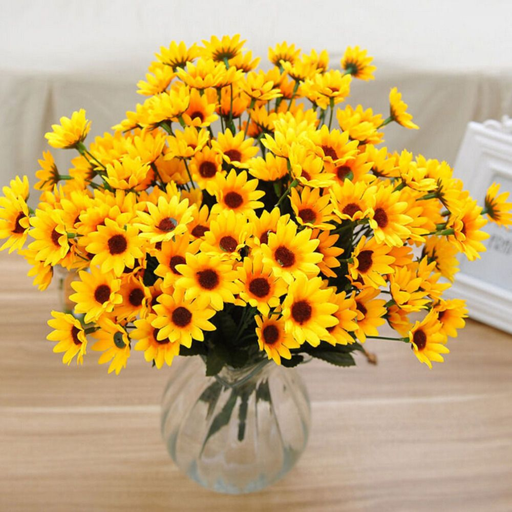 Cheap Silk Flowers Daffodils Buy Quality Flower Crepe Directly From