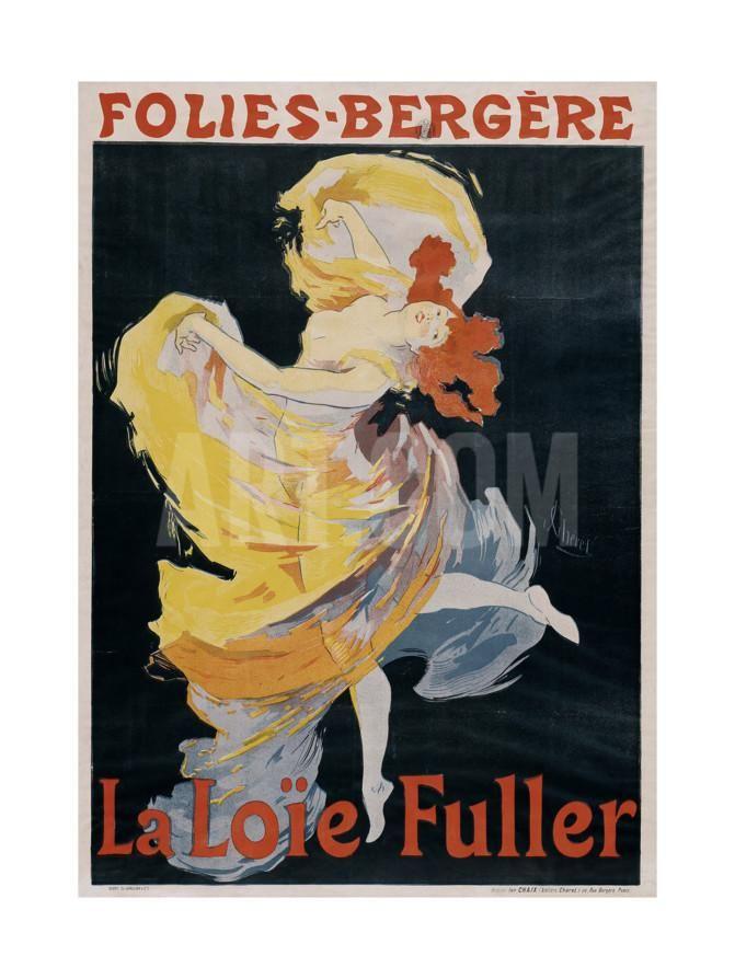 Loïe Fuller Giclee Print by Jules Chéret at Art.com