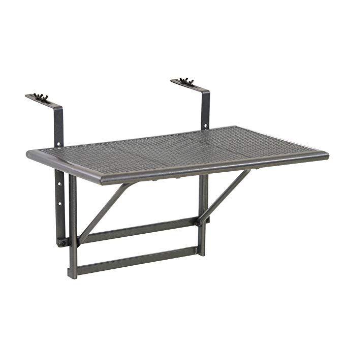 Tavolino Pieghevole Da Ringhiera Ikea.Greemotion Tavolino Da Balcone Pieghevole Toulouse