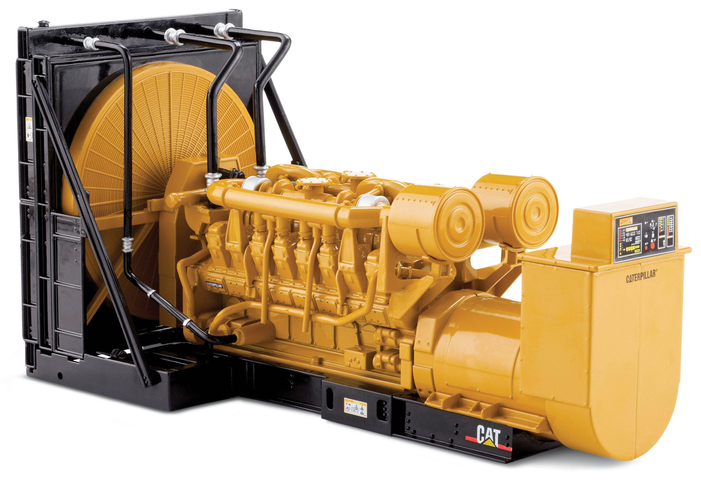 At CAT both 50 Hz and 60 Hz gas generators are available
