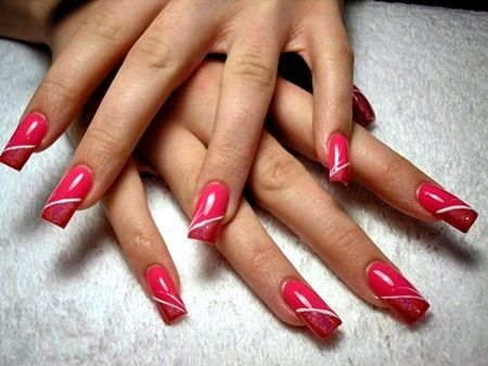 nail designs pictures  pink nails gel nail design gel
