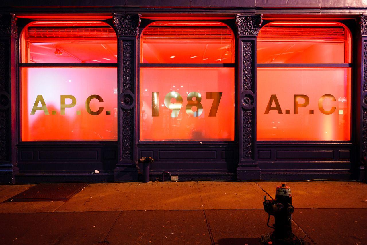 A.P.C. 25th Anniversary Event Recap.