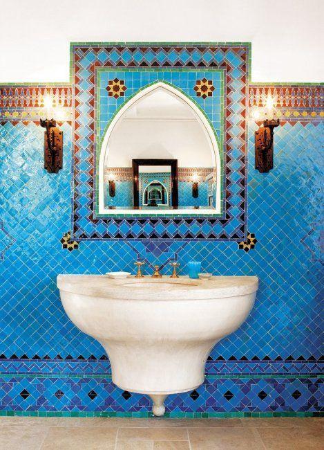 Marokkaanse badkamer in Californië is kijkje waard (foto\'s ...