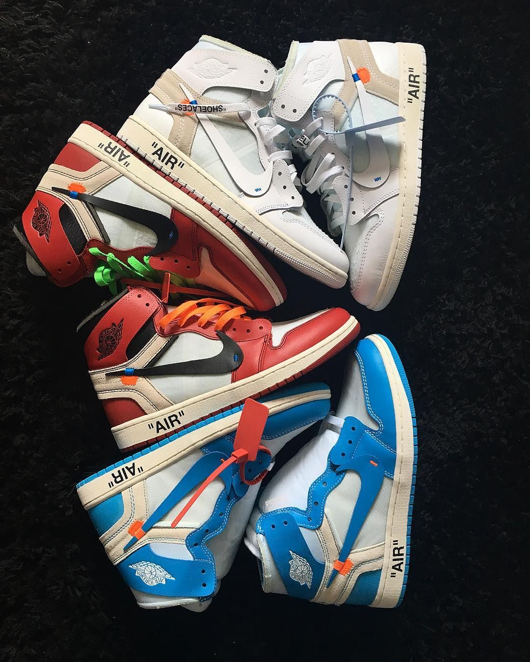 Air Jordan 1 Off White Collection Off White Shoes White Nike Shoes Sneakers