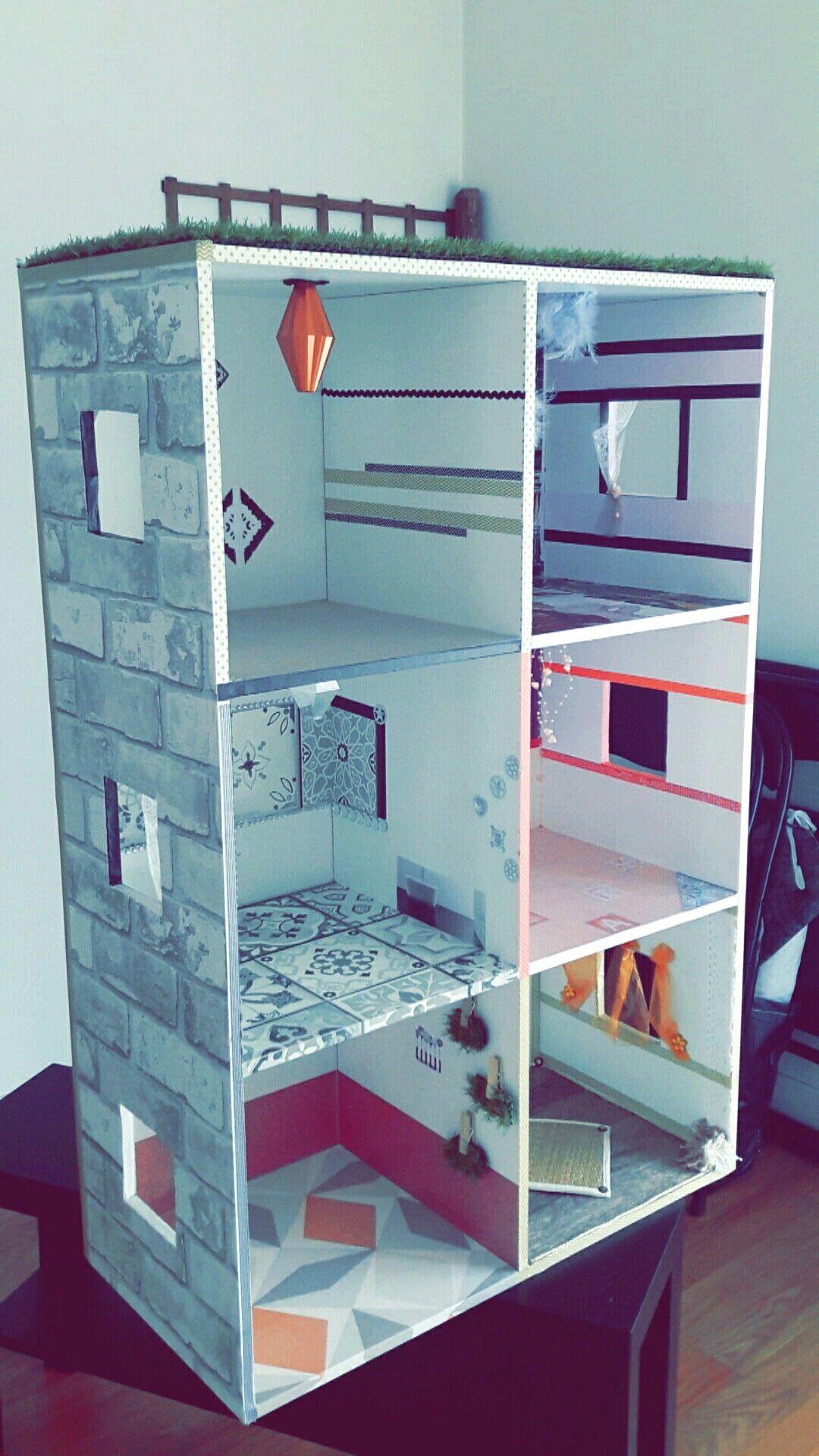 Comment #transformer Un #vieux #meuble Cases En Une #maison De #poupée