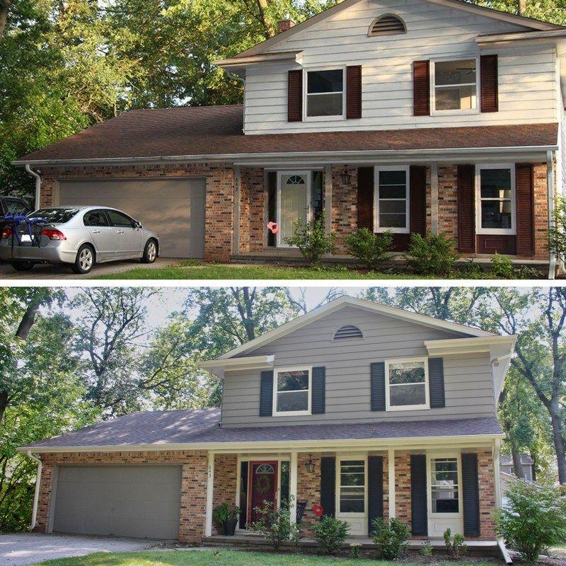 Exterior paint final reveal house paint exterior red