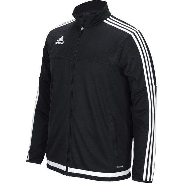 Adidas Youth Tiro 15 Training Jacket Mens Jacket Black Adidas Men Mens Jackets