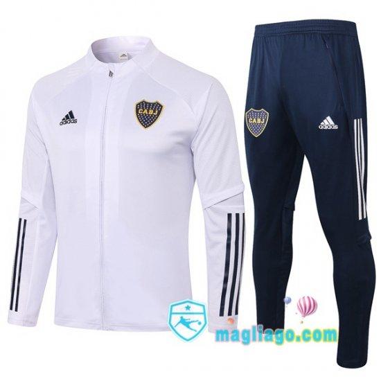 Giacca Da Allenamento Boca Juniors Bianco 2020/2021 | Anzug ...