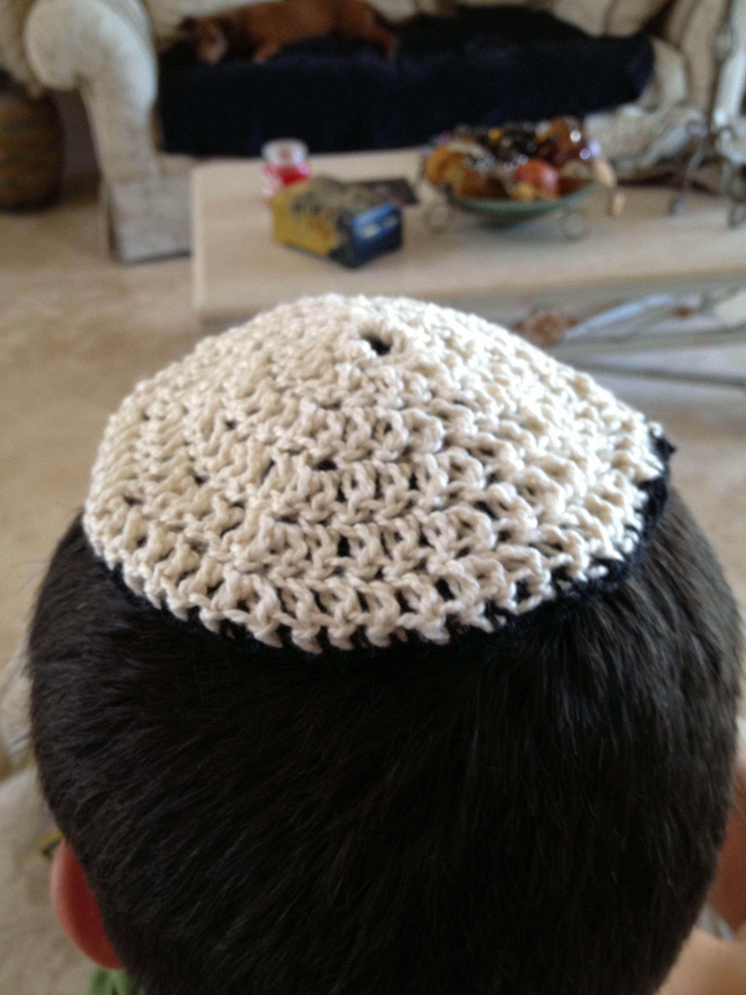 Crochet Yarmulke : Pinterest