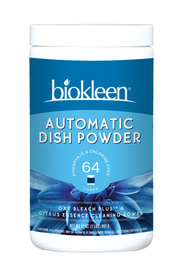 Automatic Dish Soap Powder Citrus 2 Lbs Oxygen Bleach