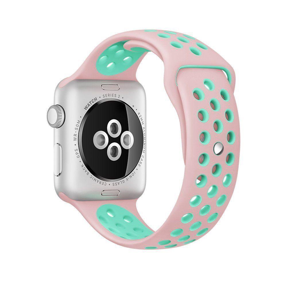 Amazon Com Apple Watch Series 2 Smartwatch 38mm Rose Gold Aluminum Case Pink Sand Sport Band Refurbished Buy Apple Watch Apple Watch Space Grey Apple Watch