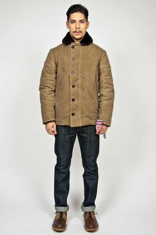 Spiewak N1 Deck Jacket Field Tan  56be895376