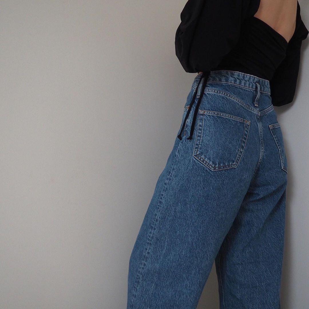 Belle Blogger Ldn On Instagram I M Bringing Square Backs Back Also Square Fronts Swipe For Evidence Http Denim Trends Fashion Jean Trends