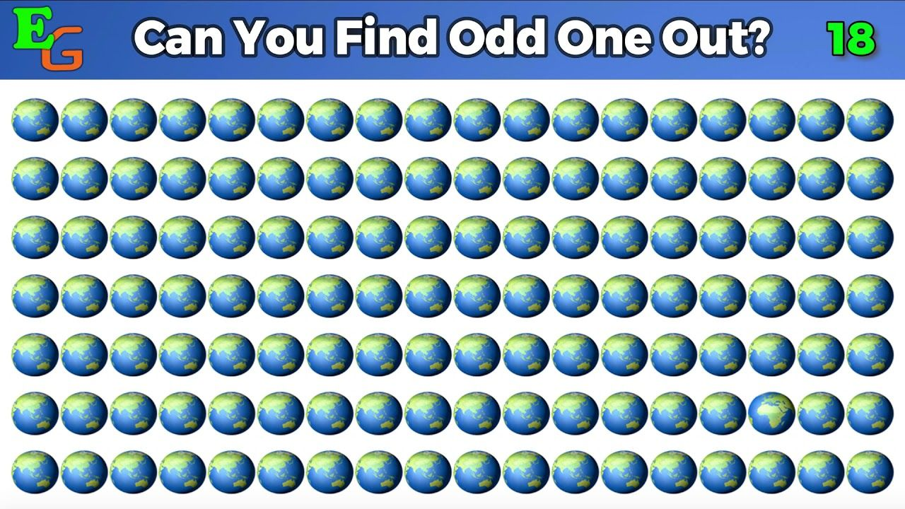 Odd One Out Brain Games With Answers | Odd ones out videos ...