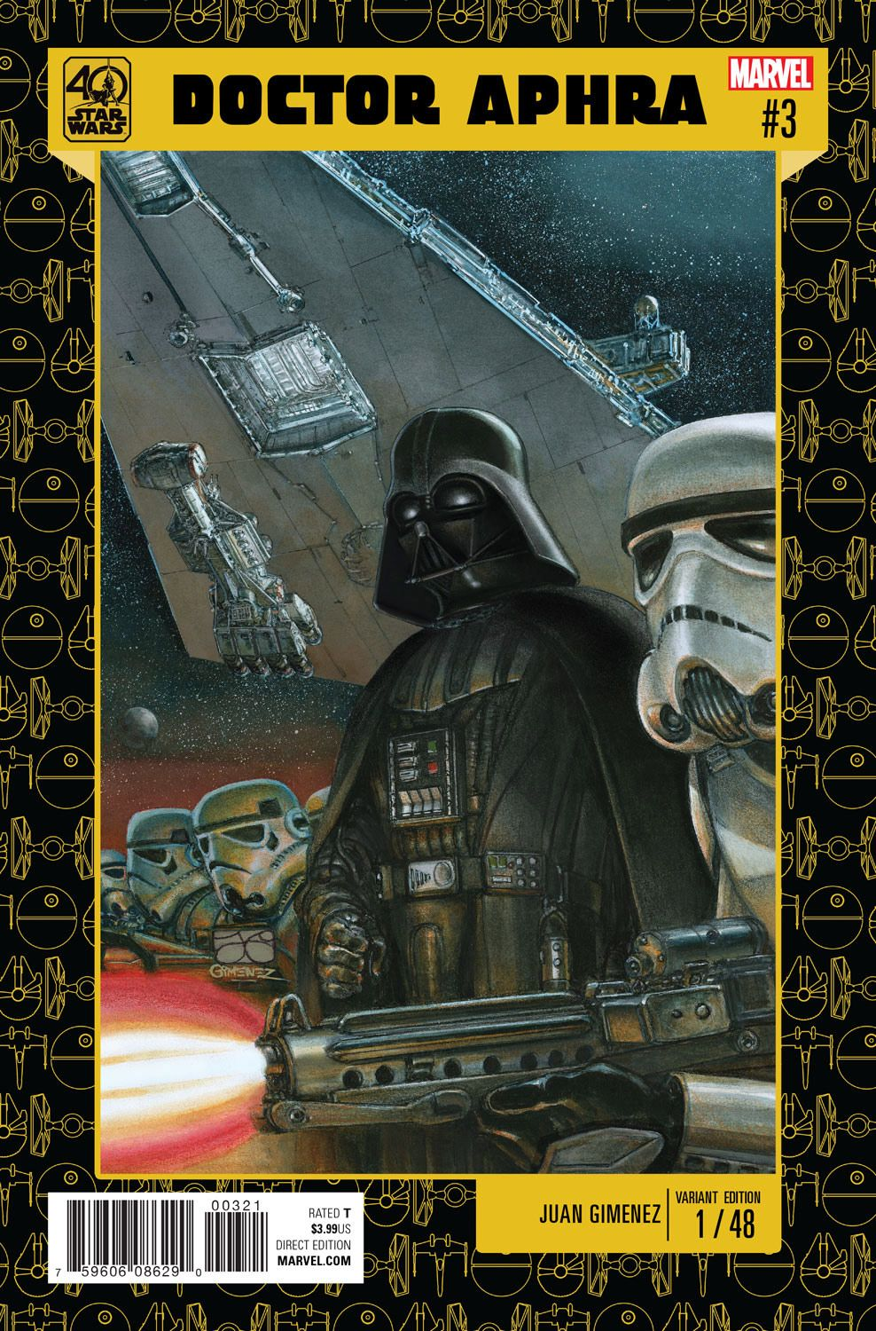 Exclusive get a first look at marvels star wars 40th