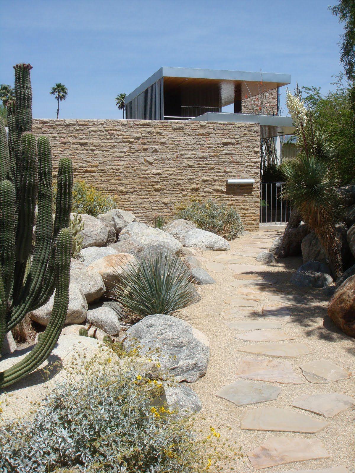 kaufmann house. palm springs california