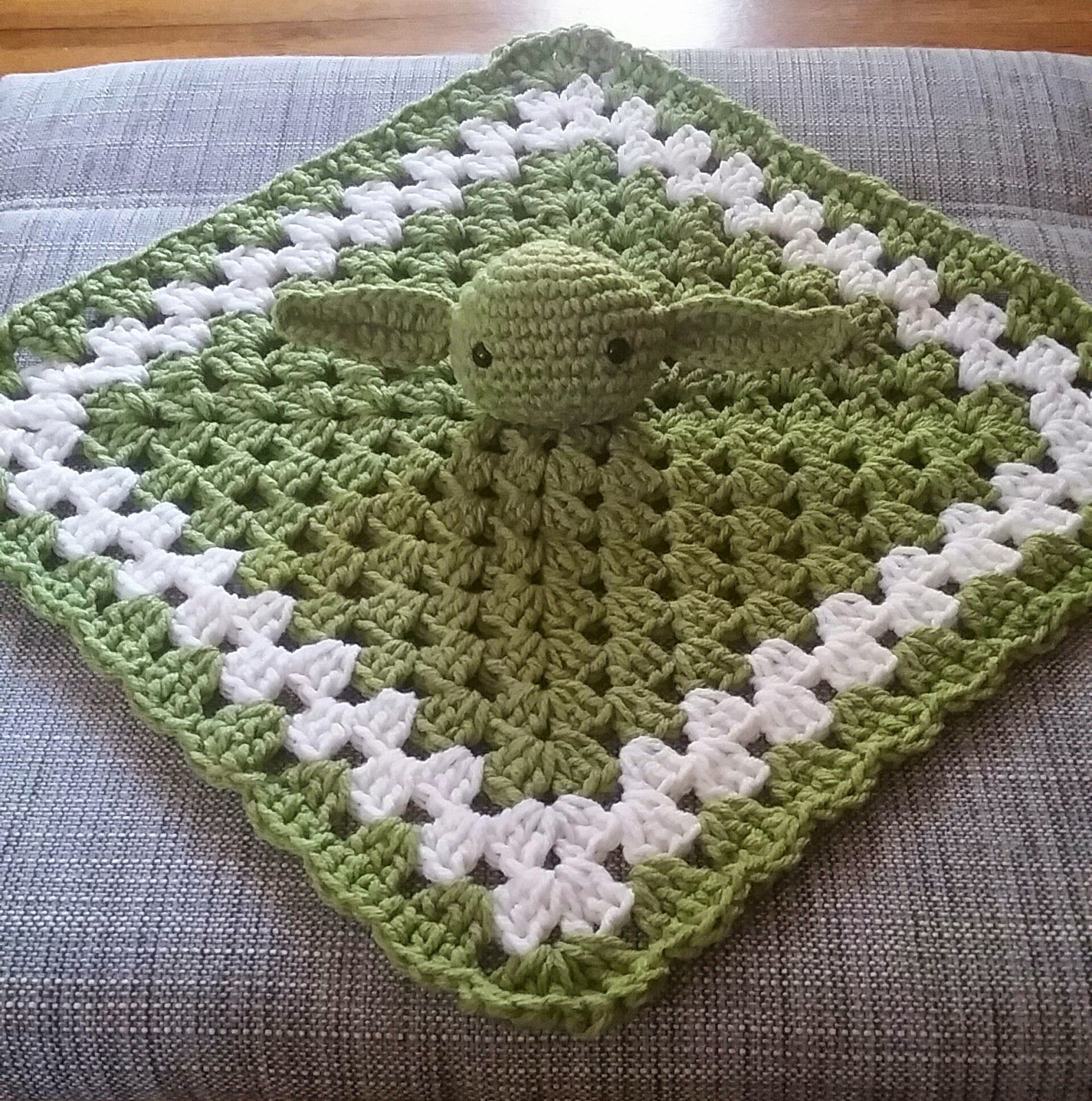 Kristen\'s Crochet: Yoda Inspired Lovey | Crochet | Pinterest ...
