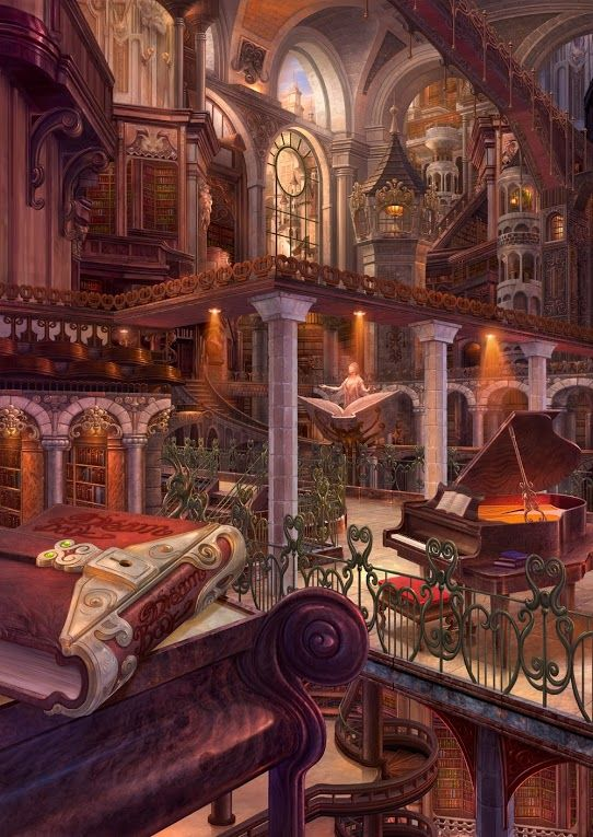 There was a 'fantasy library' thread on /wg/