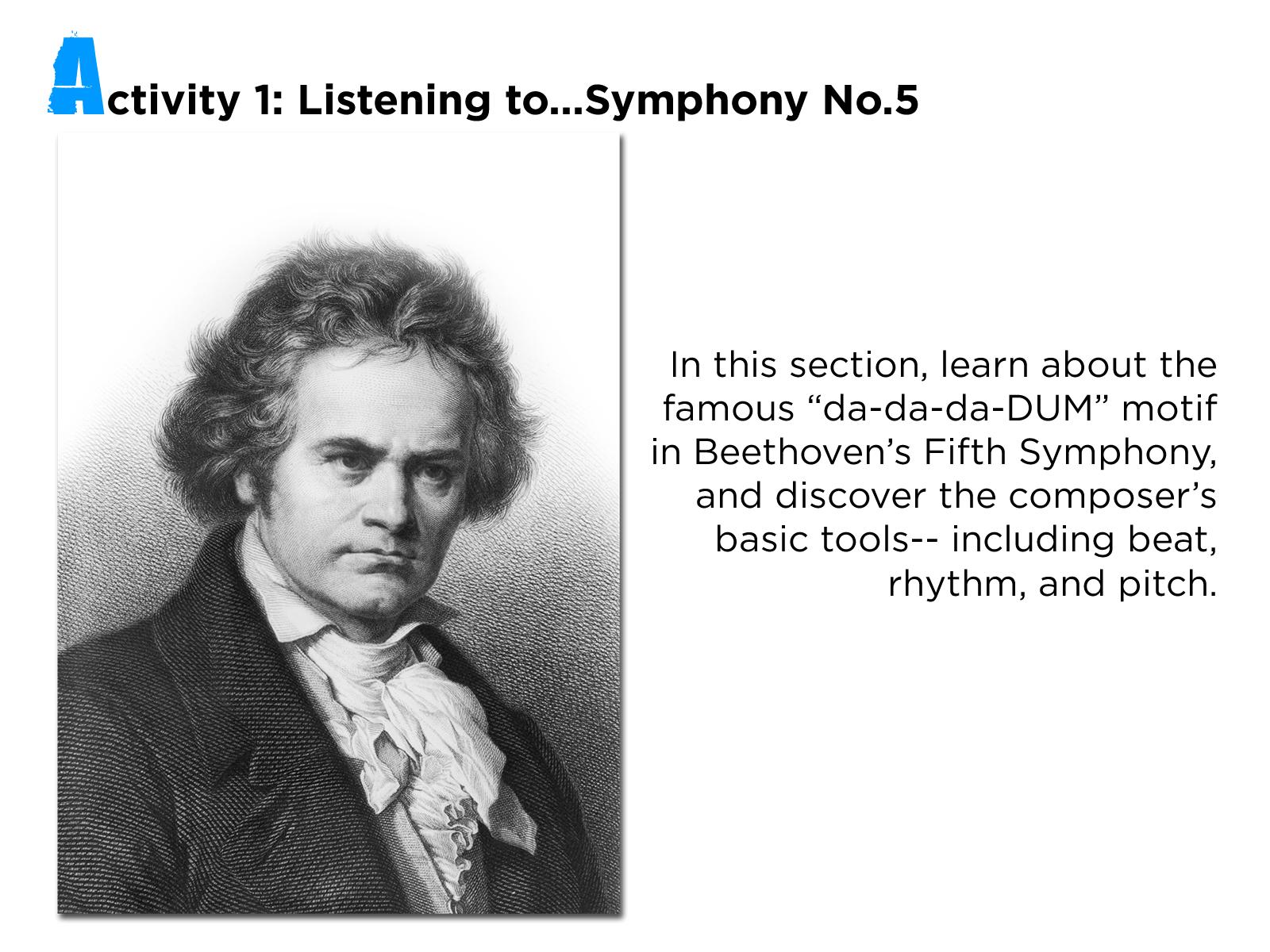 Artsedge Listening To Beethoven S 5th