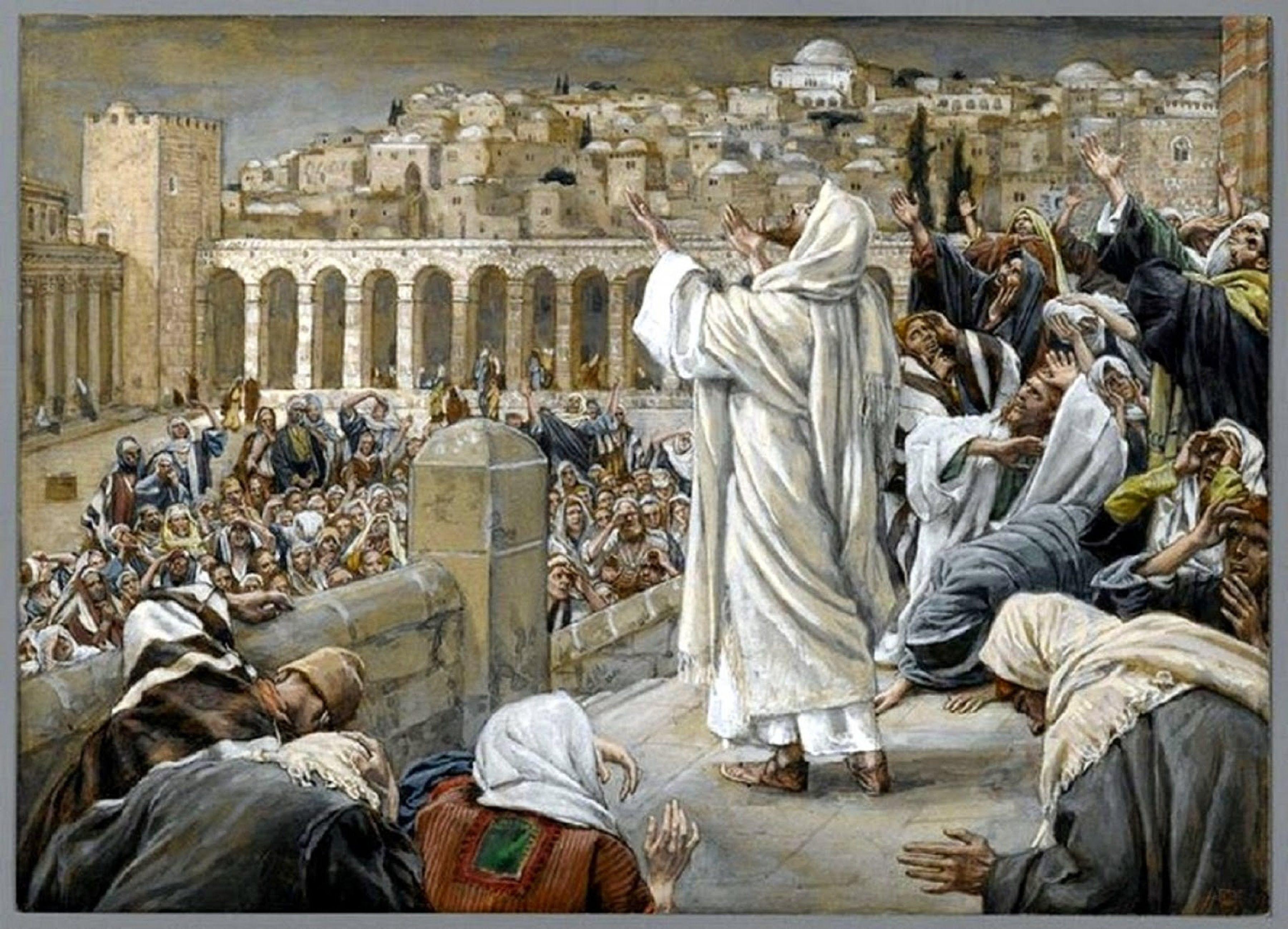 Evangelio del dia y comentario (Lc 12, 49-53) Jesús dijo a sus discípulos: Yo he venido a traer fuego sobre la tierra, ¡y cómo desearía que ya estuviera ardiendo! Tengo que recibir un bautismo, ¡y qué an...