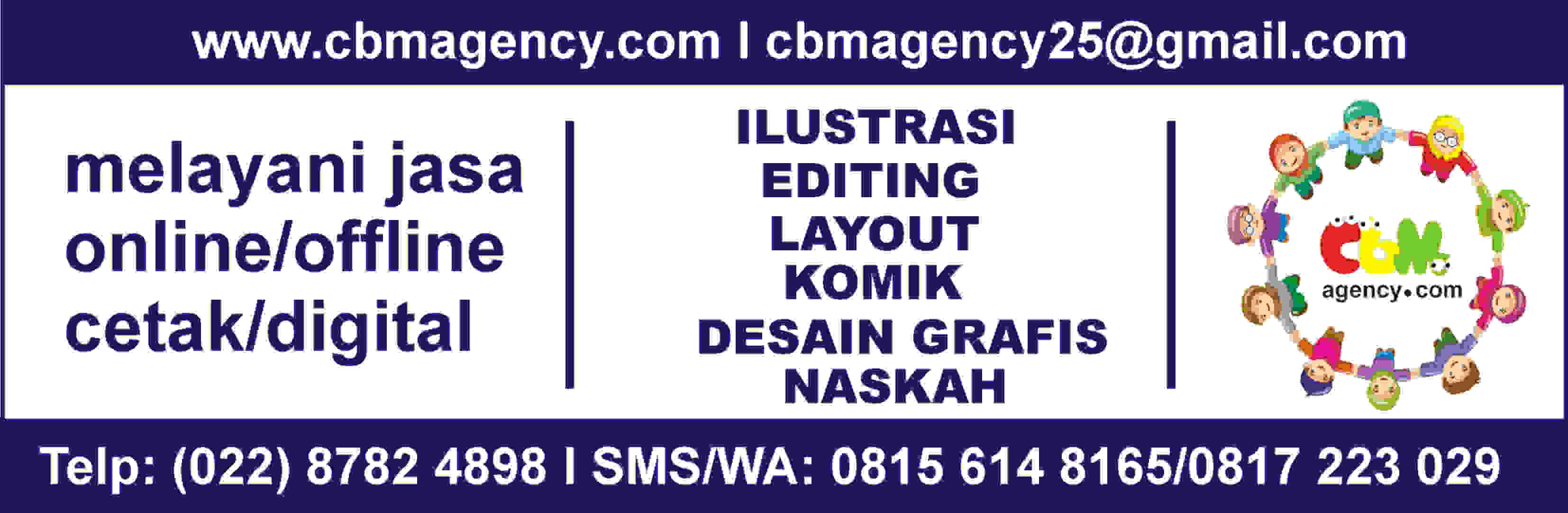 iklan banner cbm agency 3 agustus 16