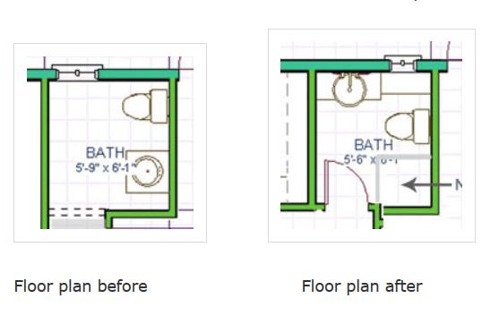 Small Bath Redo Makeover Full Bath Contemporary Bathroom Ideas