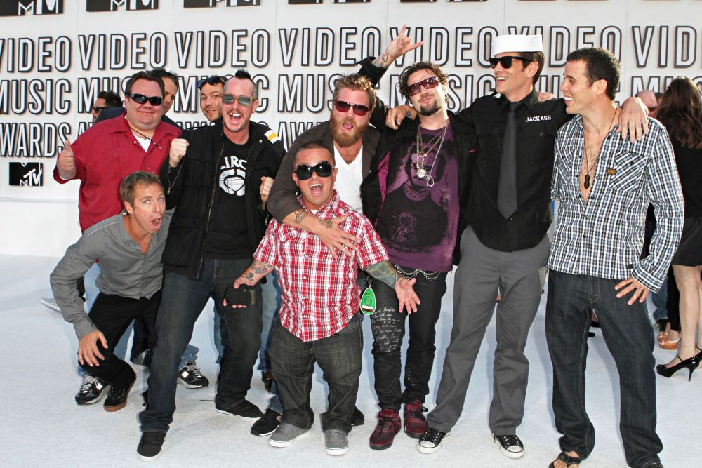 Johnny Knoxville, Bam Margera, Steve-O, Dave England, Preston Lacy, Ehren  McGhehey, Ryan Dunn, Wee Man, Chris Pontius, Jeff Tremaine