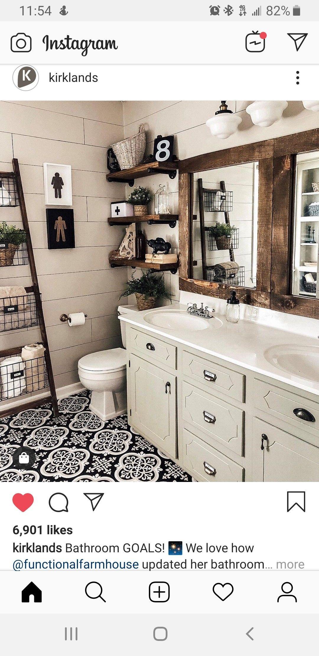 Pin by Meglyn Cory on Interior | Bathroom decor, Bathroom ...