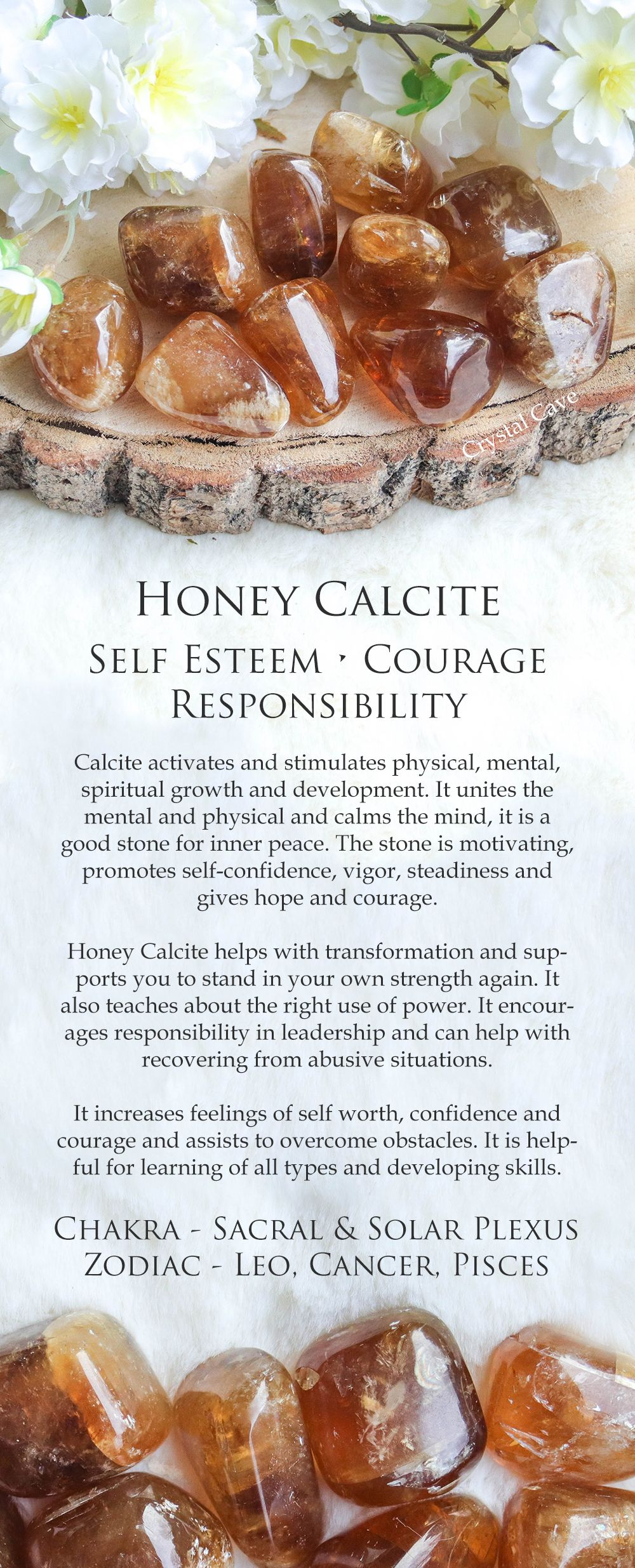 Honey Calcite Tumbled Stone / Honey Calcite Cuddle Stone / Honey Calcite Gemstone / Crystal For Self Esteem / Gemstone for Courage Stones #crystalhealing