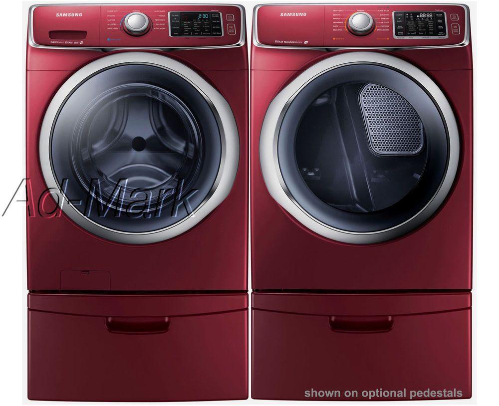 Samsung Steam Washer And Dryer Wf42h5400af Dv42h5400ef