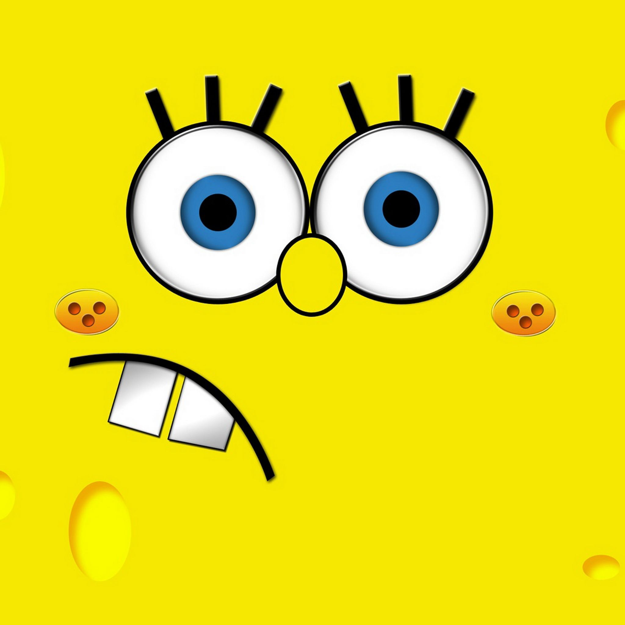 Spongebob Bigface Cartoon Ipad Wallpaper Mobile9 Spongebob Hello Kitty Wallpaper Spongebob Painting