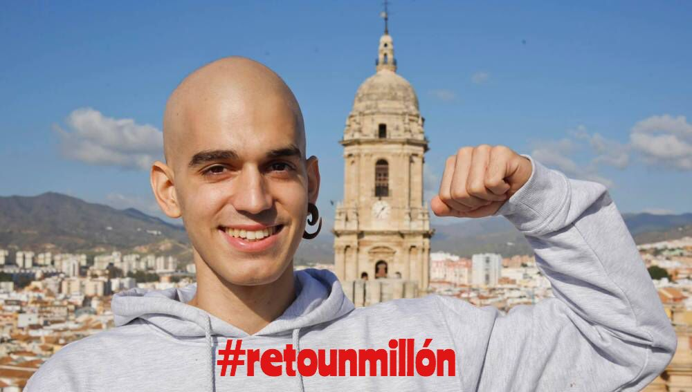"""EL LEGADO DE PABLO RAEZ Pablo Raez un joven luchador, lanzó la campaña #retounmillon con la intención de incrementar el número donantes de médula ósea. Esta campaña se convirtió viral llegando a alcanzar 103 mil """"Me gusta"""" en Facebook y fue casi 72 mil veces compartido.  Consiguiendo así que las donaciones se incrementarán en un 1400% especialmente en su provincia Málaga.   #SIEMPREFUERTE"""