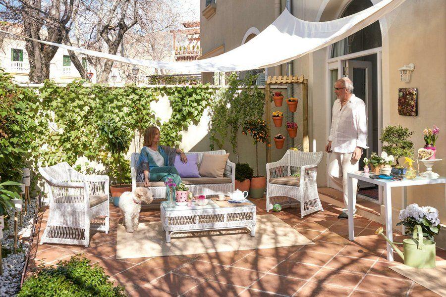 Ideas con vida para jardines y terrazas galatea ideas - Como disenar una terraza jardin ...