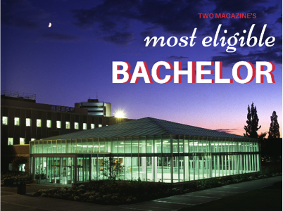 """PROVO, UT- An unusual campus hero has got hearts fluttering. This year, TWO Magazine's Most Eligible Bachelor award goes to a dark horse candidate: Harold, the BYU Library. """"I basically spend all m..."""
