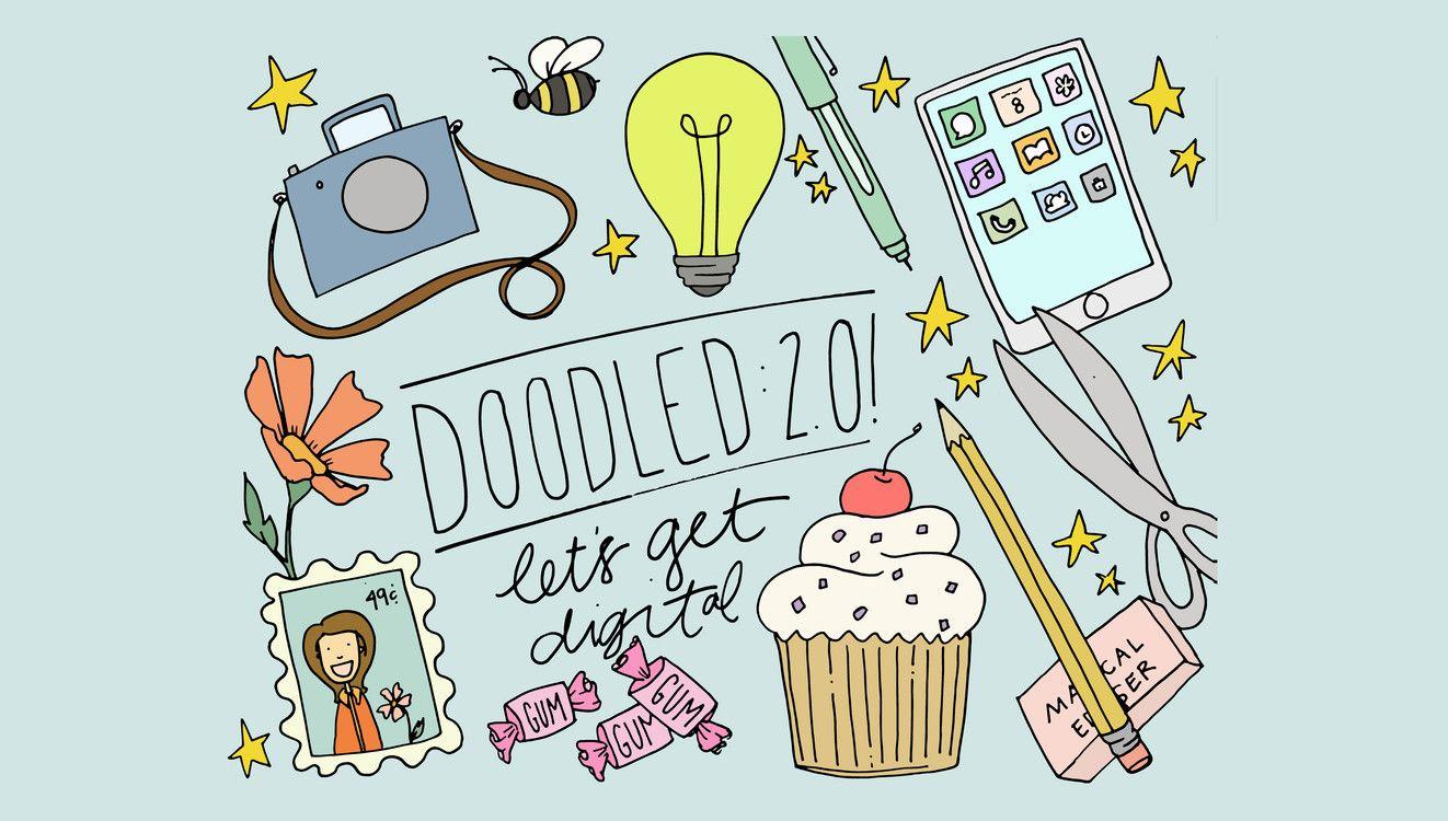Doodled 20 at big picture classes digitize your doodles