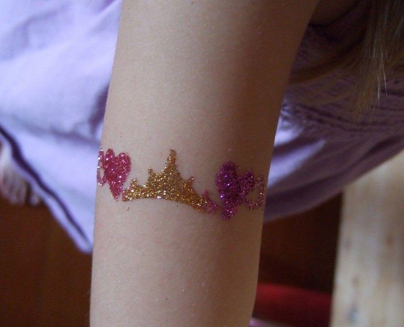 Tus Hacer Con BrilloFiestas Infantiles Como Tatuajes Jcl1KF