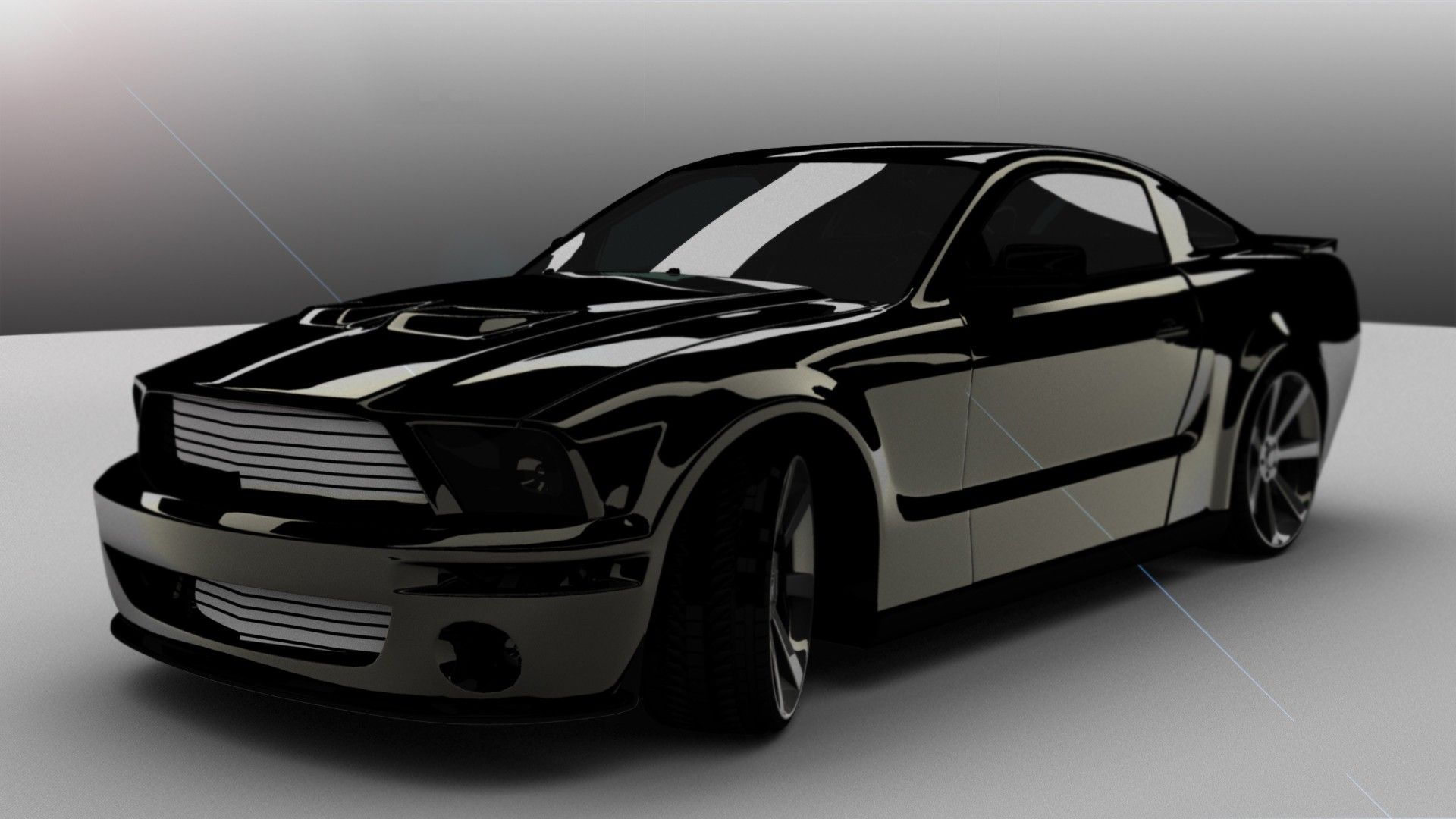 awesome design black mustang cobra wallpaper - Mustang 2014 Black Wallpaper