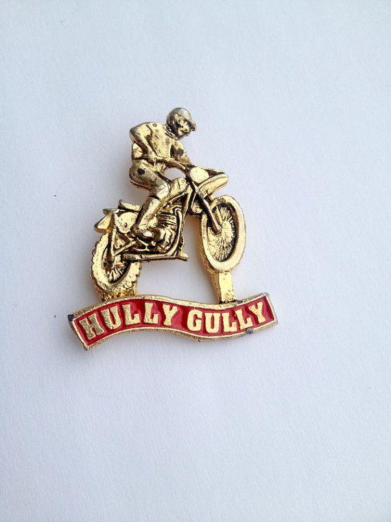 BMX Bicycle Motocross Pin Badge