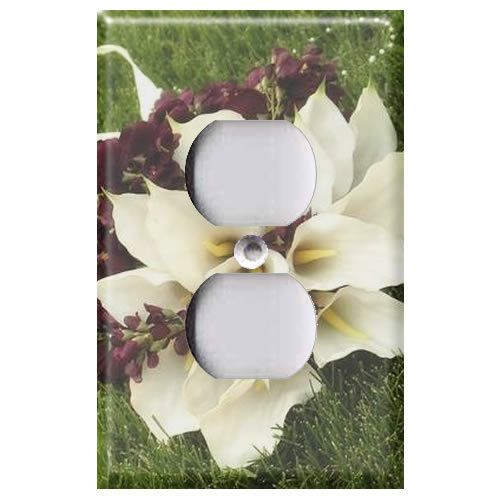 Calla Lilies   Light Switch Covers Home Decor Outlet