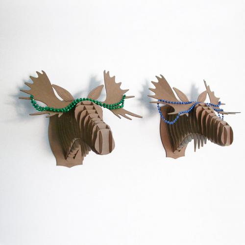 troph e cerf en carton diy pour les enfants pinterest carton lan et cerf. Black Bedroom Furniture Sets. Home Design Ideas