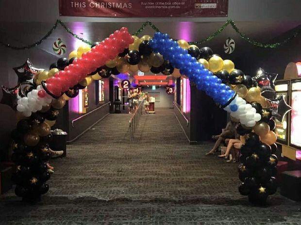 FOIL BALLOON DISPLAY NEW TABLE CENTREPIECE HAPPY  BIRTHDAY STAR WARS