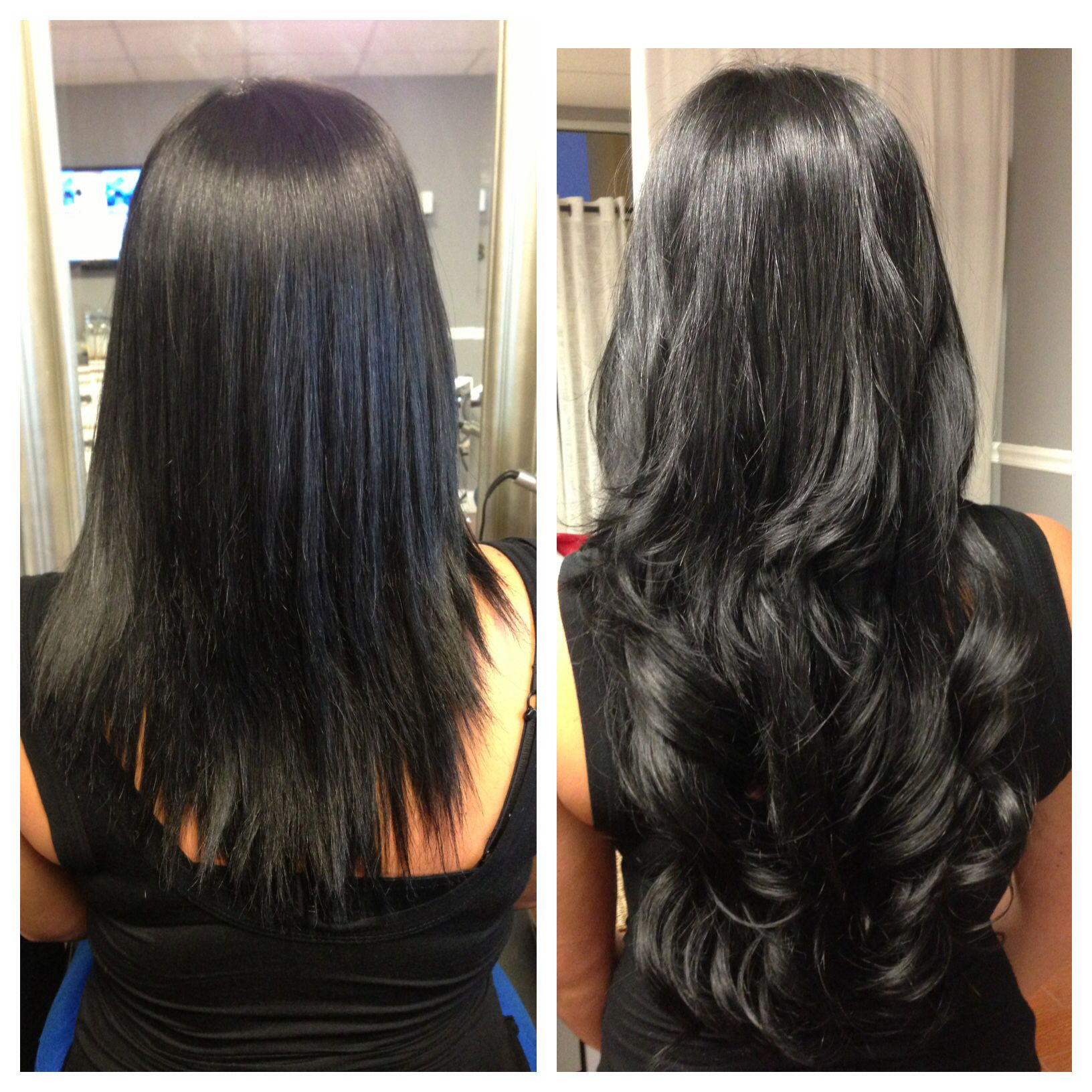 Short to long hot heads hair extensions used lmg beauty short to long hot heads hair extensions used pmusecretfo Images