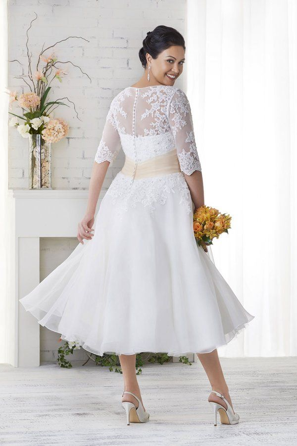 Wedding Gown Gallery Short Wedding Dress Tea Length Dresses Plus Size Wedding Gowns