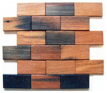 Brick Pattern Antique Wood 2x4 Wood Tile Mosaic Sheet Rustic Mosaic Tile Rustic Mosaic Tile Wood Tile How To Antique Wood