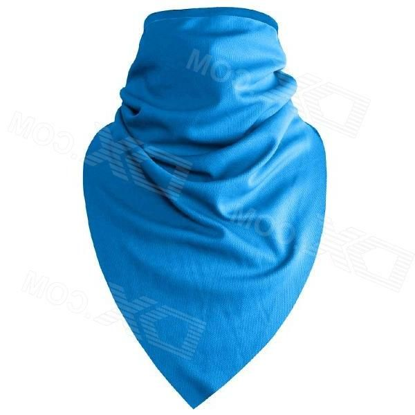 QingLongLin Quick Drying Breathable Cycling Scarf Mask - Blue