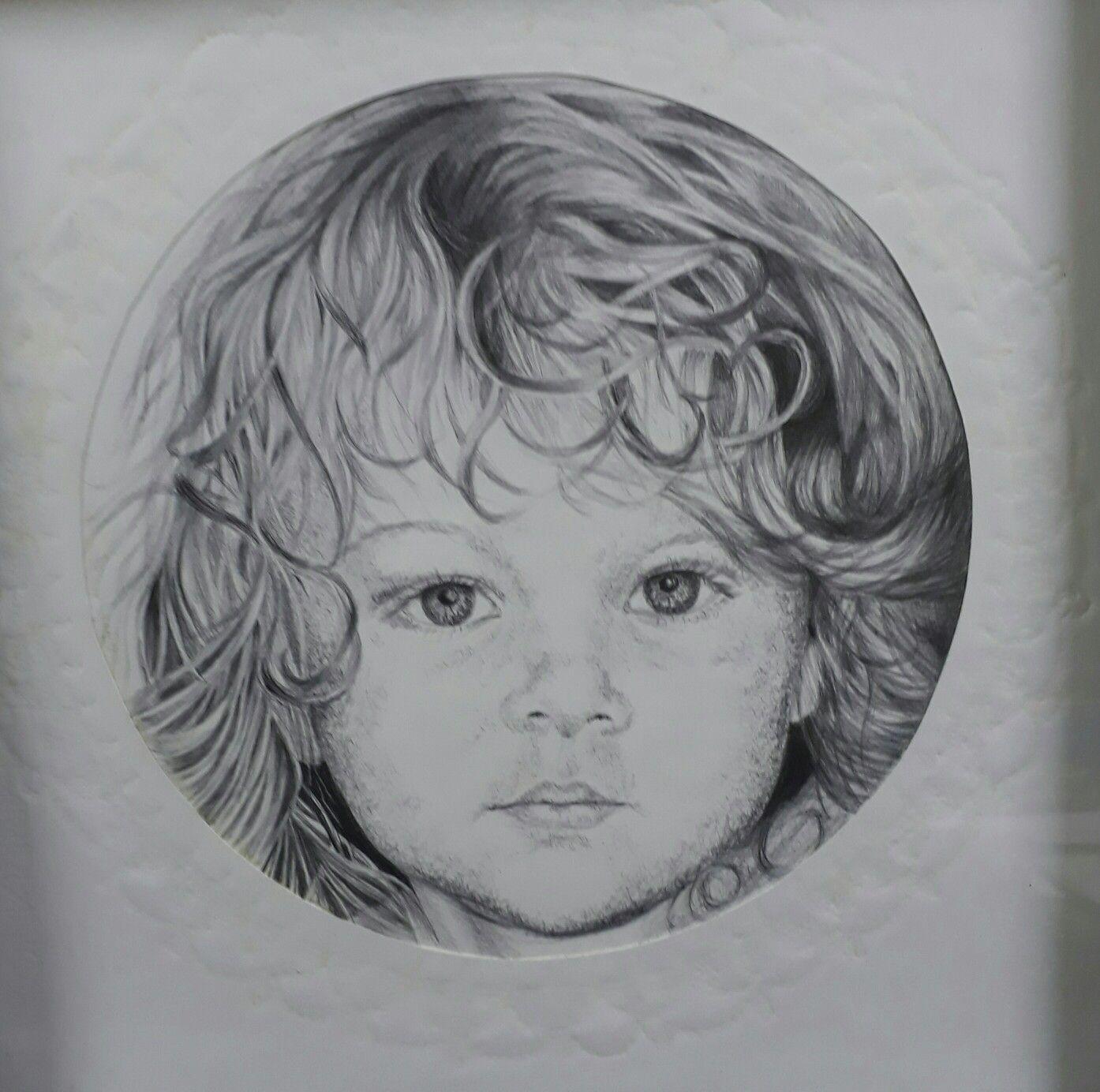 Ballpoint pen drawing on 300gm Fabriano.  Celeste v d Merwe.