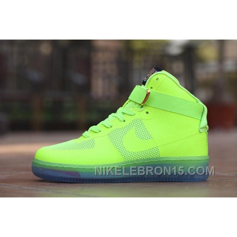 outlet store ee093 c58be Air Force One X Givenchy Crystal Men Sneaker Neon Green Best, Price   88.31  - Nike Lebron Shoes Online Store